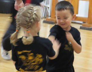 Cours pour enfants kung fu