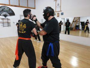Combat de Wing Chun Kung Fu St-Eustache