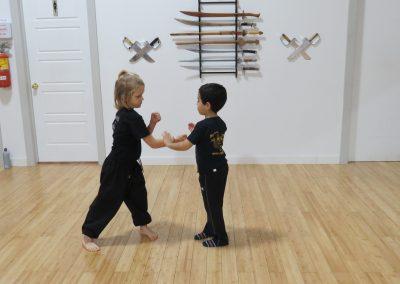 Wing Chun Kung Fu Enfant