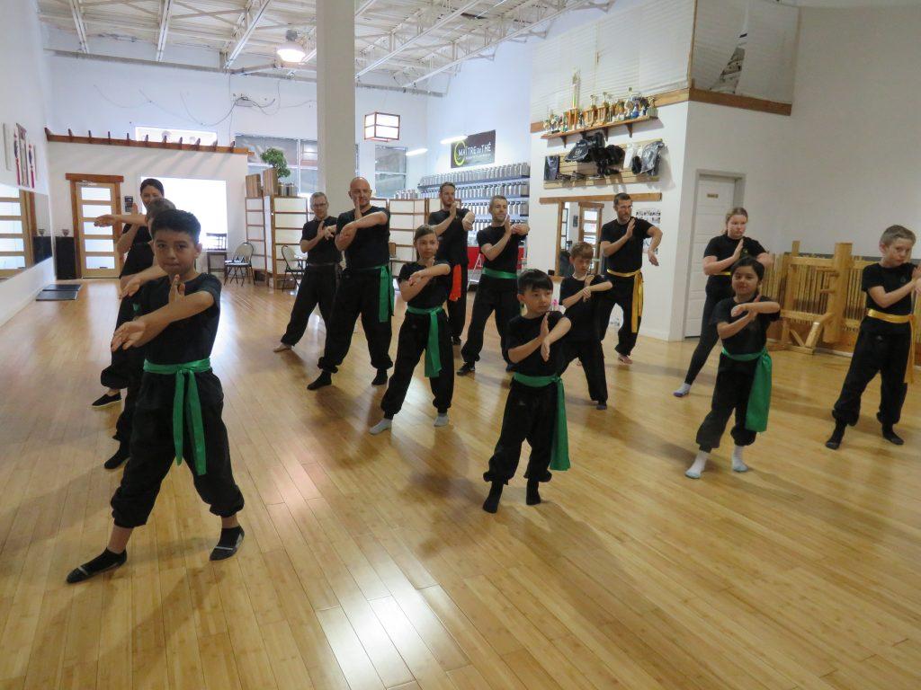 Cours de Wing Chun parent-enfant