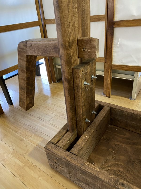 support pour mannequin de bois